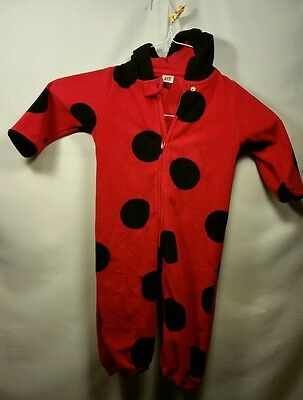 Toddler Ladybug Carter's Halloween Costume 18 Month