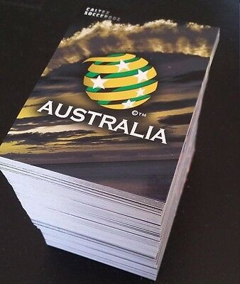 2016/17 Tap N Play FFA & A-League Soccer Complete 200 Card Base Common Set