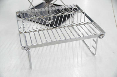 New Snow Peak Bridge/grill For Small Firepit Camping Outdoor Open Fireplace