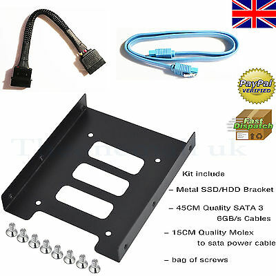 3.5-Inch to x1 SSD / 2.5-Inch Internal Hard Drive Mounting Kit