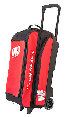 DV8 Freestyle Red/Black 3 Ball Roller Bowling Bag