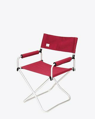 New Snow Peak Red Folding Chair Camping Furniture