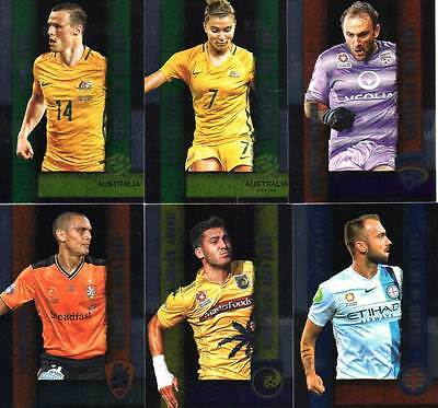 2016/17 Tap N Play FFA & A-League Soccer Last Line of Defence 12-Card Insert Set