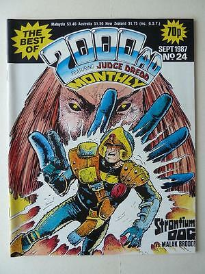 The Best Of 2000AD Featuring Judge Dredd Monthly No 24 1987 VGC