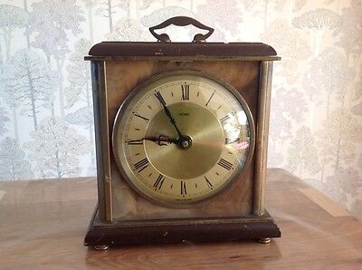 Vintage Metamec Mantle Clock For Restoration Repair Approx 8x6.5""