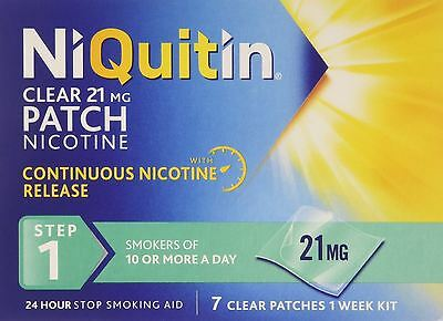 NiQuitin 21mg Patch Clear