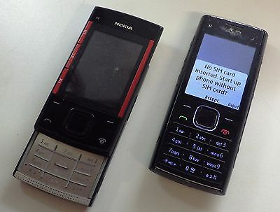 Lot Of 2 Used Mobile Phones Nokia x2 x3