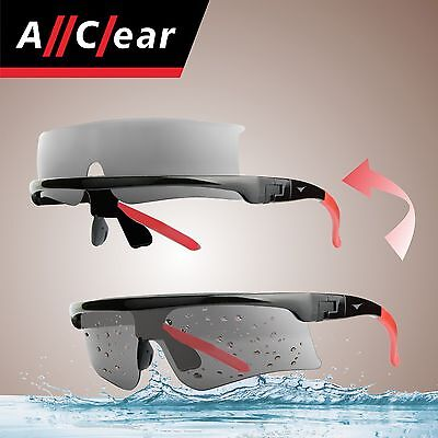 AllClear SELF-CLEAN Polarized Sunglasses Inflatable Trailer Speed Watercraft S1