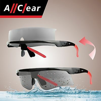 AllClear SELF-CLEAN Polarized Sunglasses Inflatable Trailer Speed Watercraft S2