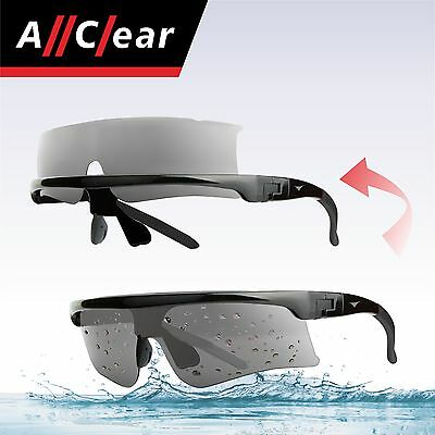 AllClear SELF-CLEAN Jet Ski Boat Sunglasses Clear Lens from water splash S2