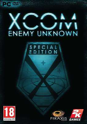 XCOM Enemy Unknown Special Edition  - PC DVD - New & Sealed