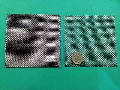 5 pads 10cm x 10cm   Beekeeper Mesh 316 Stainless Steel Wire Mesh