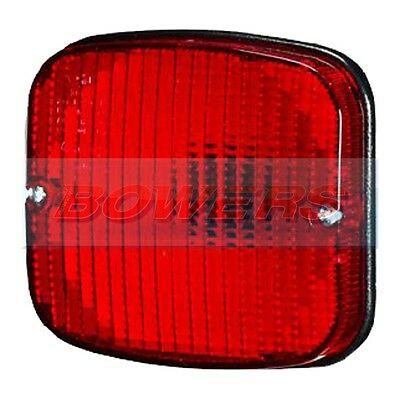 Sim 3132 Red Rear Position (Tail) Stop Light/lamp Replacement Spare Lens