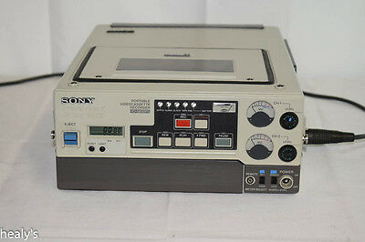 Sony VO-6800PS Portable Professional U-matic Video Recorder Player