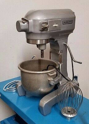 HOBART A 120 12 QT Commercial Mixer New Whisk, Hook and Paddle