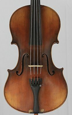 Nice old antique 4/4 Violin German Josef Guarnerius Copy  Nice