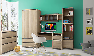 MADAGASKAR children teenager youth bedroom playroom furniture desk wardrobe
