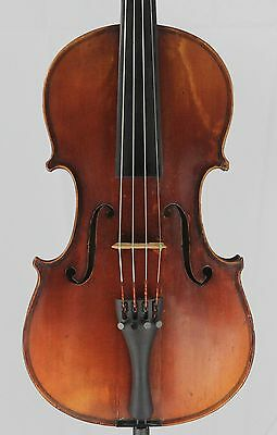 Nice old antique 4/4 Violin German made Alberto Bertini Strad  Copy  Nice Tone