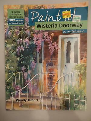 Paint It! Wisteria Doorway Watercolour Step by Step Instructions How to Pattern
