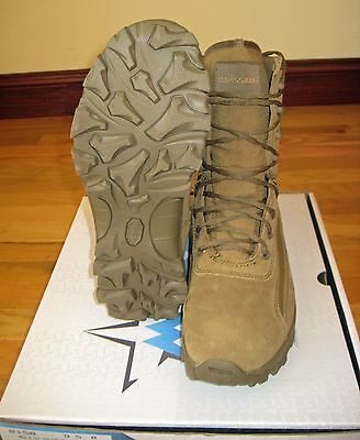 """McRae 8"""" Terassault Freedom Articulated Tactical Boot Coyote Brown Size 9.5 M"""