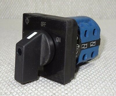 Kraus & Naimer CA11 2-Position Rotary Selector Switch