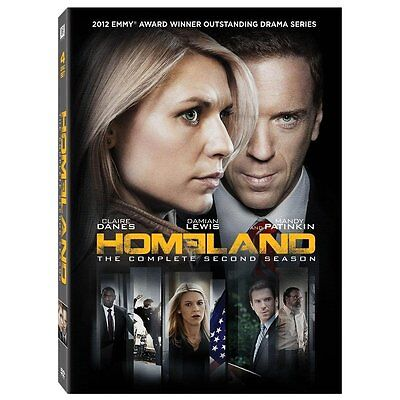 Homeland: The Complete Second Season (DVD, 2013, 4-Disc Set) NEW SEALED