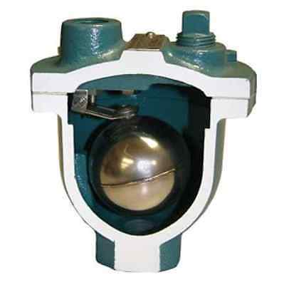 """Val-matic Valmatic 1/2"""" Water Air Release Valve Model 15A- 175 PSI Pressure"""