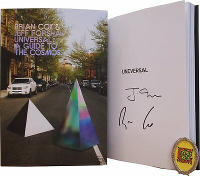 Signed Book - Universal: A Guide to the Cosmos by Brian Cox and Jeff Forshaw