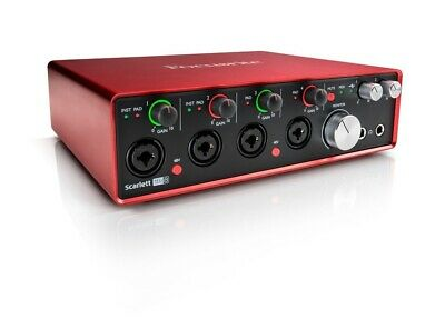 Focusrite Scarlett 18i8 USB Audio Interface ( 2nd Generation)