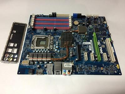 Genuine Dell X501H Studio Xps 435T / 9000 Motherboard + I/o Plate