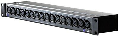 ART Pro Audio - P16 Balanced 16-Point XLR Patchbay