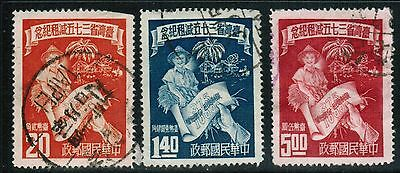 China Taiwan ROC 1952 Sc#1046//51 perforate, Tax Reduction, used  cp1