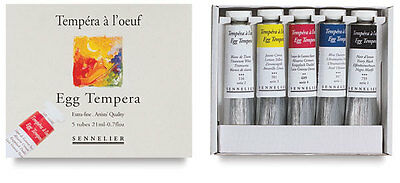 Sennelier Egg Tempera Starter Set