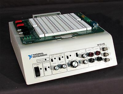 * Excellent Condition National Instruments Ni Elvis  With Prototyping Board.