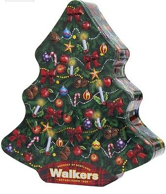 Walkers Shortbread Christmas Tree Tin 225g
