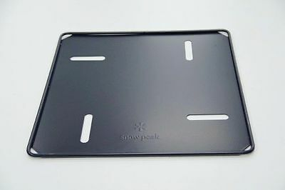 New Snow Peak Baseplate For Medium Fire Pit Camping Outdoor Fireplace St-033Bp