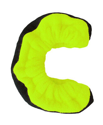 A&R TuffTerrys Ice Hockey Figure Skate Cloth Blade Cover Guards Small Lime