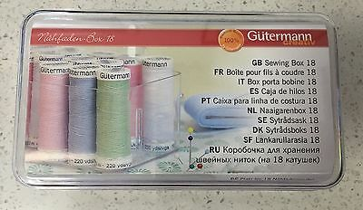 Gutermann Storage Organiser Box for Sewing Thread - Holds 18 100mtr Spools