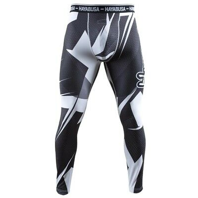 Hayabusa Metaru 47 Silver Compression Leggings