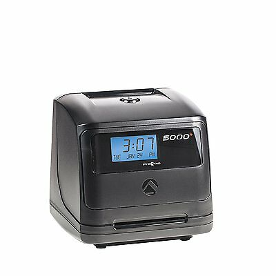 Pyramid 5000HD Heavy Duty Steel Auto Totaling Time Clock UPC: 044942794771