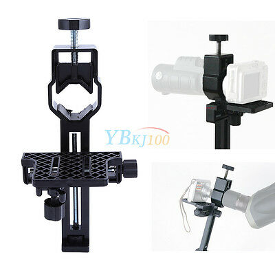 """1.25"""" Universal Digital Camera Adapter mount stand for Scopes spotting Telescope"""