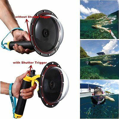 Underwater Diving Camera Lens Dome Port Cover Case for Xiaomi Yi 2 4K Action Cam