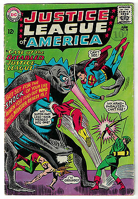 DC Comics JUSTICE LEAGUE OF AMERICA The World's Greatest Superheroes No 36 VG+