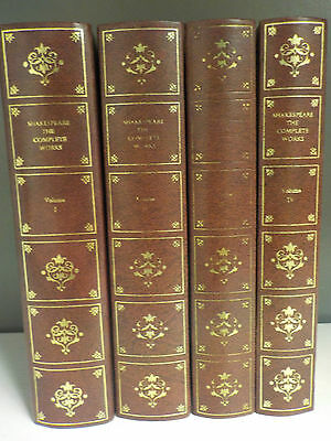 Shakespeare - The Complete Works - 4 Books Collection! (ID:40215)