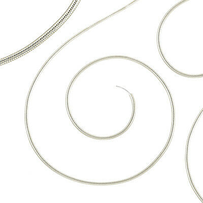 "Beadsmith French Wire/Gimp/Bullion Wire (0.7mm) Fine Silver Colour 14"" (J38/4)"