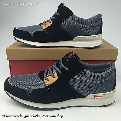 Levis City Sneakers Trainers Ny Runner Mens Casual Walking Shoe Rrp £100