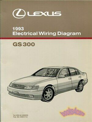 shop manual gs300 1993 lexus electrical wiring diagram schematicshop manual gs300 1993 lexus electrical wiring diagram schematic service repair