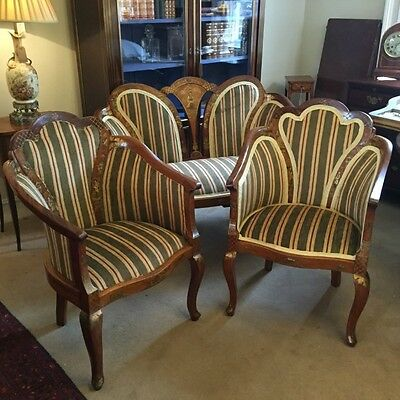 Pair of Chinoiserie armchairs      Ref a13828