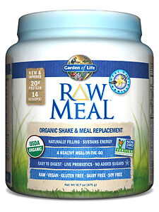 Garden of Life, RAW Organic Meal  Vanilla 16.7 oz