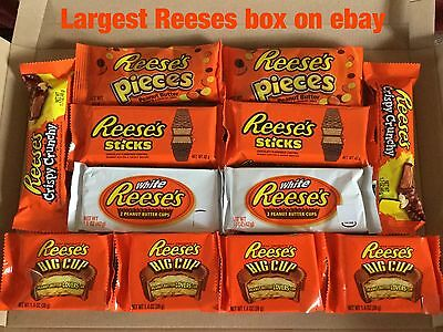 LARGEST  Reeses USA American Candy Chocolate Hamper postage gift box on ebay